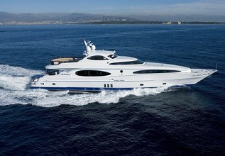 Melanya Charter Yacht at Monaco Yacht Show 2014