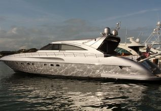 Silver Lining Charter Yacht at Fort Lauderdale Boat Show 2015