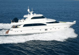 Xanadu Charter Yacht at Fort Lauderdale Boat Show 2014
