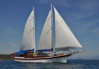 Salmakis Charter Yacht at Dubai Boat Show 2013