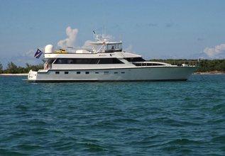 Wanderlust Charter Yacht at Yachts Miami Beach 2017