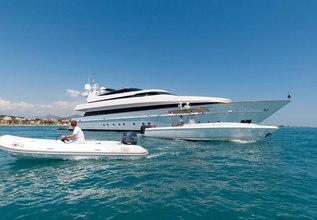 Element Charter Yacht at Dubai International Boat Show 2021