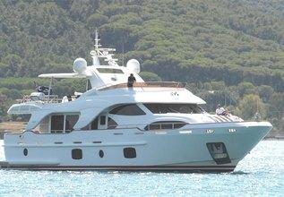 XOXO Charter Yacht at Miami Yacht & Brokerage Show 2015
