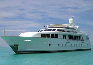 No Limit Charter Yacht at Fort Lauderdale Boat Show 2014