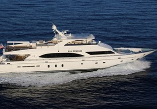 Exit Strategy Charter Yacht at Fort Lauderdale Boat Show 2019 (FLIBS)