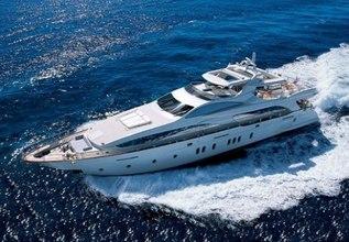Blue Charter Yacht at Yachts Miami Beach 2017