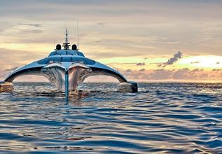 Adastra Charter Yacht at Dubai International Boat Show 2021