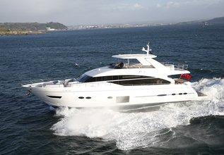 Minx Charter Yacht at Palma Superyacht Show 2019
