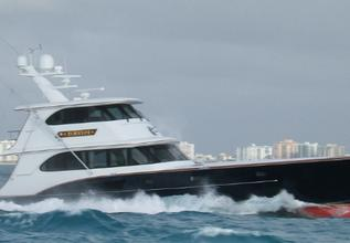 Patriot Charter Yacht at Fort Lauderdale Boat Show 2014