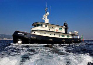 Mastiff Charter Yacht at Palma Superyacht Show 2015