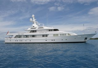 Maria Charter Yacht at Palm Beach Boat Show 2014