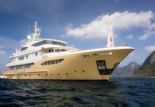 Jade 959 Charter Yacht at Monaco Grand Prix 2017