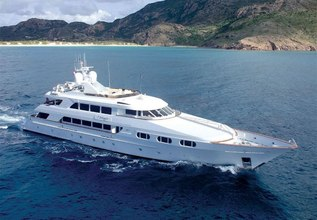 Attitude Charter Yacht at Fort Lauderdale Boat Show 2014