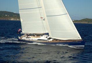 Ananda Charter Yacht at Antigua Charter Show 2013