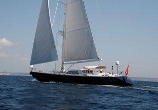 Ikaron Charter Yacht at Palma Superyacht Show 2017