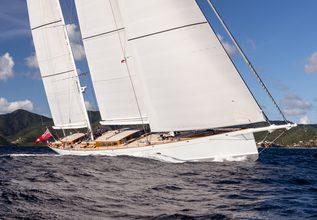 Elfje Charter Yacht at St. Barth's Bucket Regatta 2015