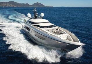 Gems II Charter Yacht at Palma Superyacht Show 2018