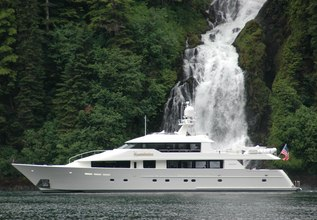 Constellation Charter Yacht at Palm Beach Boat Show 2014