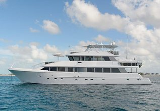 Hello Dolly VII Charter Yacht at Fort Lauderdale Boat Show 2016
