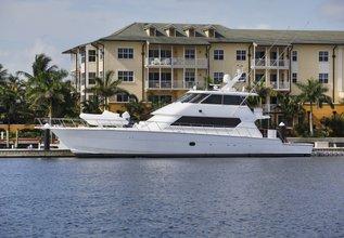 Tamara K4 Charter Yacht at Palm Beach Boat Show 2014