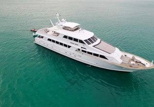 Ocean Drive Charter Yacht at Fort Lauderdale International Boat Show (FLIBS) 2021