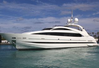 Sealyon Charter Yacht at Palm Beach Boat Show 2014