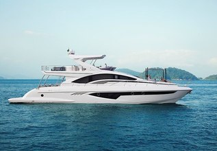 Lucila III Charter Yacht at Fort Lauderdale Boat Show 2019 (FLIBS)