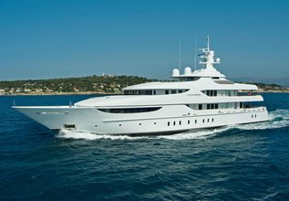 Oasis Charter Yacht at Monaco Yacht Show 2017