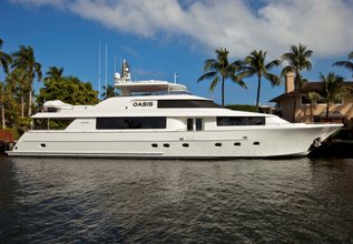 My Tammera Charter Yacht at Palm Beach Boat Show 2014