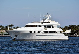 Themis Charter Yacht at Fort Lauderdale Boat Show 2015