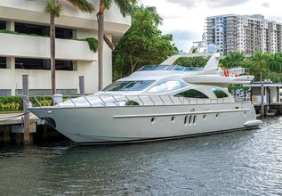 Kopkapy Charter Yacht at Fort Lauderdale Boat Show 2016