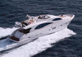 Majesty 88 Charter Yacht at Abu Dhabi Grand Prix 2017