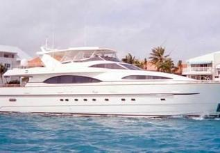 Island Seeker Charter Yacht at Fort Lauderdale Boat Show 2019 (FLIBS)