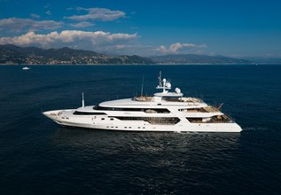 The Wellesley Charter Yacht at Monaco Grand Prix Yacht Charter