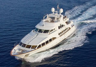 Andiamo Charter Yacht at Fort Lauderdale Boat Show 2015