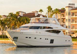 Love N Life Charter Yacht at Yachts Miami Beach 2016