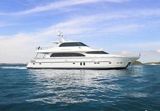 Rock Stars Charter Yacht at Palm Beach Boat Show 2019