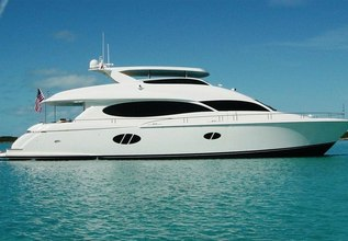 Shades of Blue Charter Yacht at Palm Beach Boat Show 2014