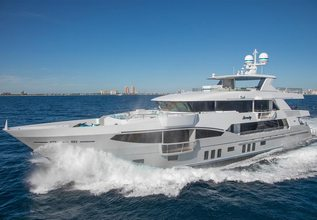 Serenity Charter Yacht at Yachts Miami Beach 2017
