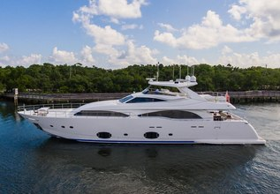 Gerry's Ferry Charter Yacht at Fort Lauderdale International Boat Show (FLIBS) 2021