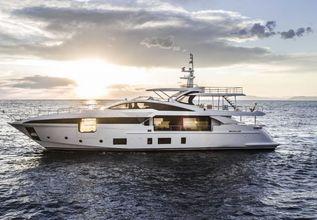 Sama Charter Yacht at Monaco Yacht Show 2018