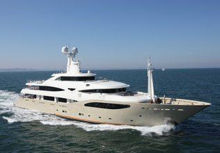 Light Holic Charter Yacht at Abu Dhabi Grand Prix Yacht Charter
