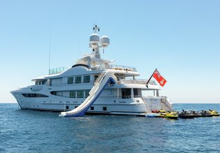 La Mirage Charter Yacht at Monaco Grand Prix 2014