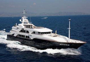 Bella Charter Yacht at Fort Lauderdale International Boat Show (FLIBS) 2021