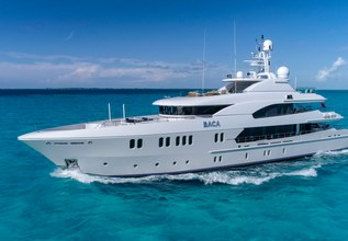 Baca Charter Yacht at Miami Yacht Show 2018