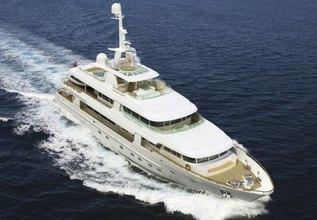 Arete Charter Yacht at Monaco Yacht Show 2014