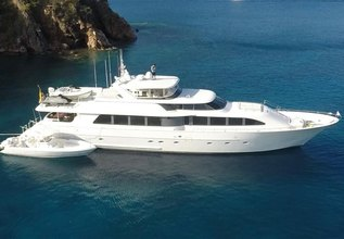 Far Niente Charter Yacht at Fort Lauderdale Boat Show 2015