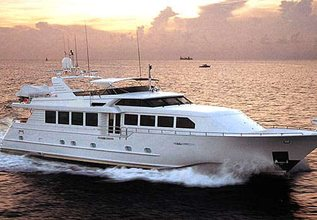 Island Vibe Charter Yacht at Palm Beach Boat Show 2019