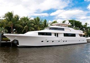 Wild Kingdom Charter Yacht at Newport Charter Show 2015