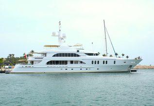 Sensation Charter Yacht at Singapore Yacht Show 2016